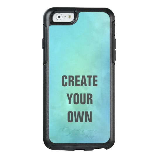 Create Your Own Turquoise Watercolor Painting OtterBox iPhone