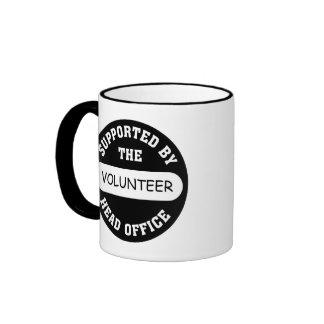 Create your own unique volunteer team gift mug