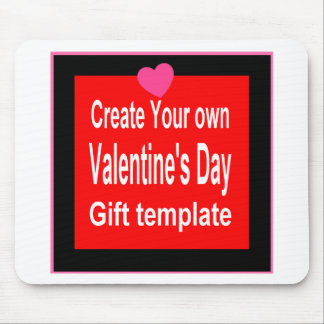 Create Your Own Valentine Gift Mouse Pad
