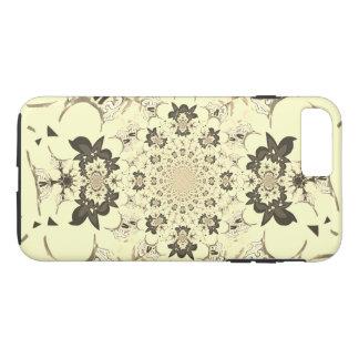 Create Your Own Vintage floral damask design iPhone 7 Plus Case