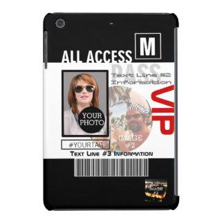 Create Your Own VIP Pass 8 ways to Personalize iPad Mini Retina Case
