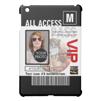 Create Your Own VIP Pass 8 ways to Personalize it! Cover For The iPad Mini
