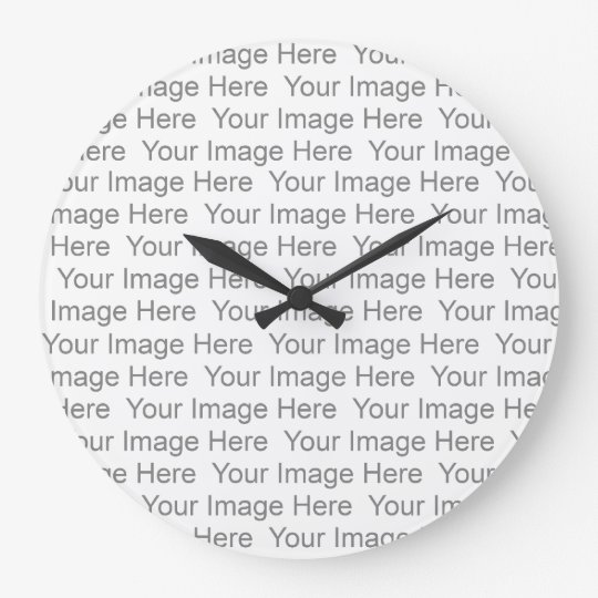 Create Your Own Wall Clock Template