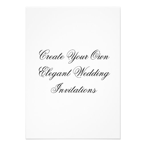 Create Your Own Wedding Invitations: Create Your Own Wedding Invitations 13 Cm X 18 Cm