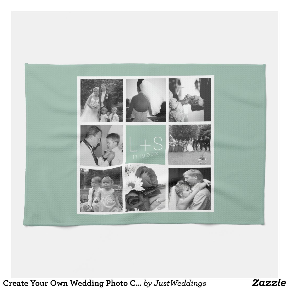Create Your Own Wedding Tea Towel