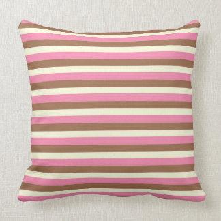 Create Your Own - Whimsical Neapolitan Stripes Cushion