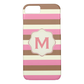 Create Your Own - Whimsical Neapolitan Stripes iPhone 8/7 Case
