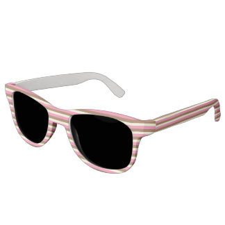 Create Your Own - Whimsical Neapolitan Stripes Sunglasses