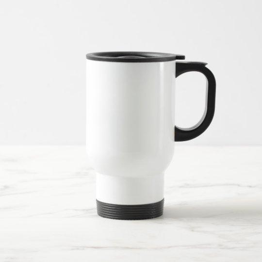 Create Your Own White Custom Travel Mugs