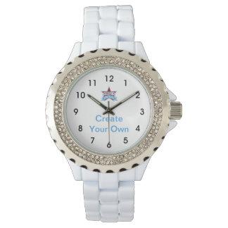 Create Your Own White Enamel Watch