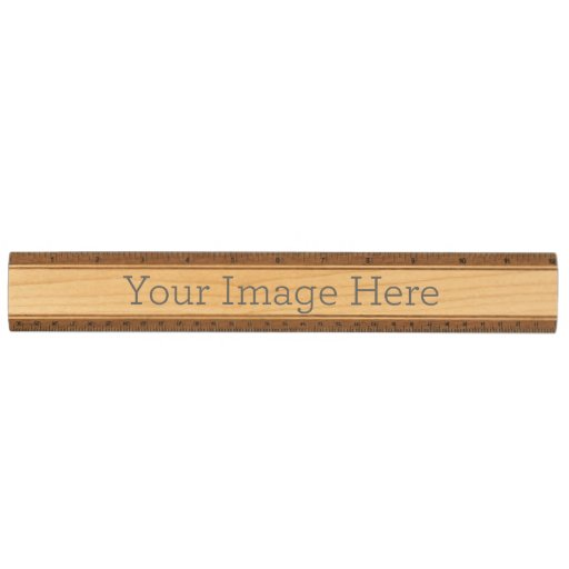 Create Your Own Wooden Ruler Maple Ruler