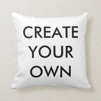 Create Your Own Zipperless Polyester Throw Pillow
