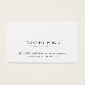 Create Your Simple Modern Classy Business Card