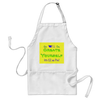 Create Yourself, It's EZ as Pie! Standard Apron