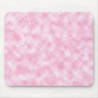 Created Pink Clouds Design Mouse Mat