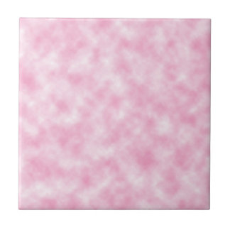 Created Pink Clouds Design Tile