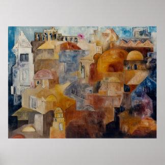 Creating Jerusalem Posters