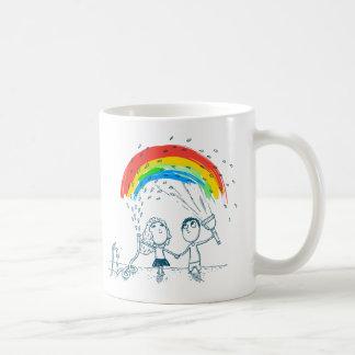 Creating Rainbow Together Love Couple Mug