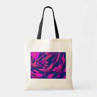 Creating Worlds – Abstract Fractal Magenta Magic Tote Bag
