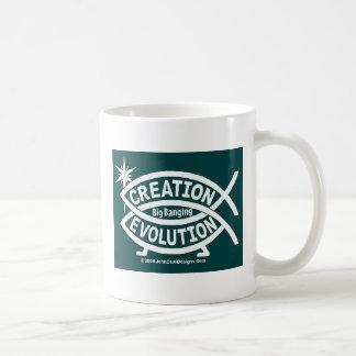 Creation Big Bang Evolution Basic White Mug