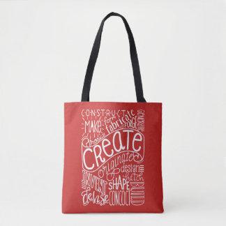 Creation Motivation Tote Bag