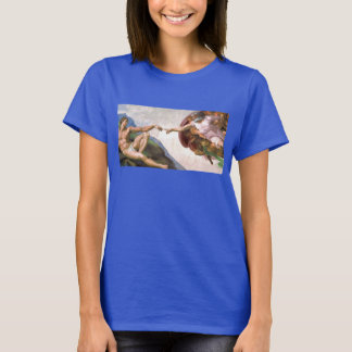 Creation of Adam by Michelangelo T-Shirt