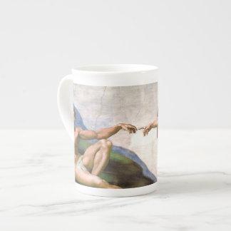 Creation of Adam by Michelangelo Tea Cup