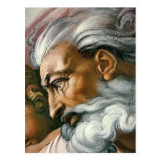 Creation of Adam (detail) Postcard
