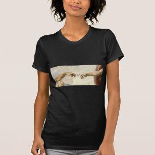 7a34b0da Michelangelo Creation Of Adam T-Shirts & Shirt Designs | Zazzle UK