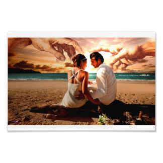 Creation of Adam-lovers Photo Art