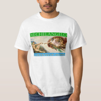 Creation of Adam - Michelangelo, Sistine Chapel T-Shirt