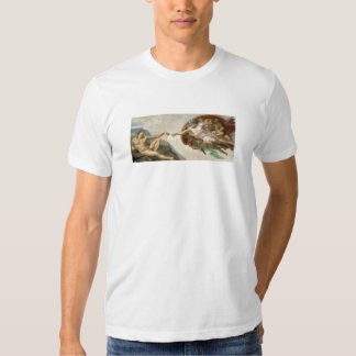 Creation of Adam - Painted by Michelangelo Shirts