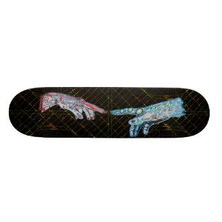 Creation of Cyber-Adam Skate Decks