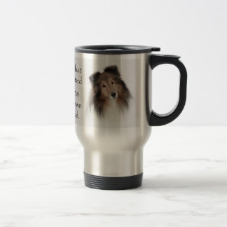 Creation of Shelties Travel Mug