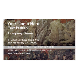 Creation Of The Animals And Creation Of Adam Scene Business Cards