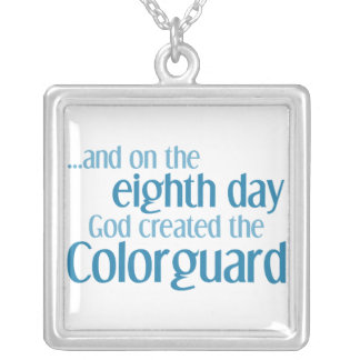 Creation of the Colorguard Silver Plated Necklace