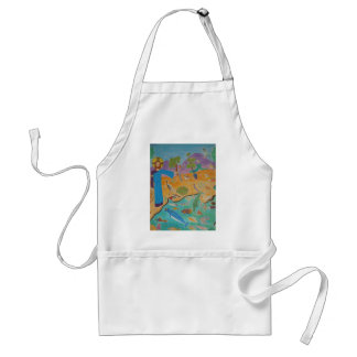 Creation: The Fifth Day Apron