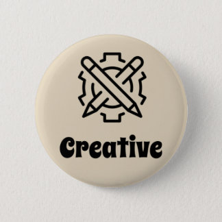 Creative 6 Cm Round Badge