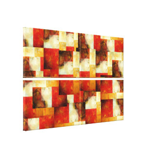 Creative Abstract Art Wrapped Canvases Set Stretched Canvas Prints
