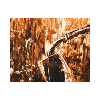 Creative Abstract Fine Wine Wall Art Stretched Canvas Print