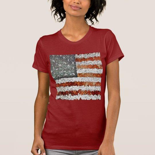 Creative American Flag T-Shirt