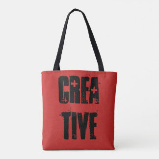 Creative Artist Grungy All Over Tote Bag