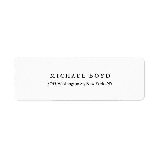Creative Black & White Classical Professional