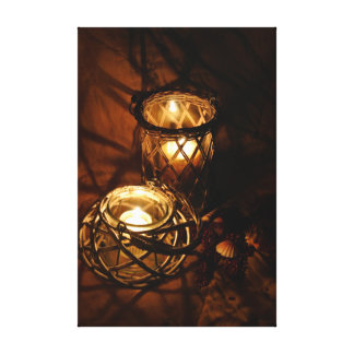 Creative Candlelight Canvas Print
