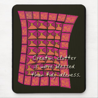 creative clutter mouse pad