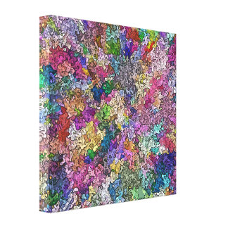 Creative Colors 1 Stretched Canvas Prints