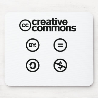 Creative Commons 3 Mouse Pads