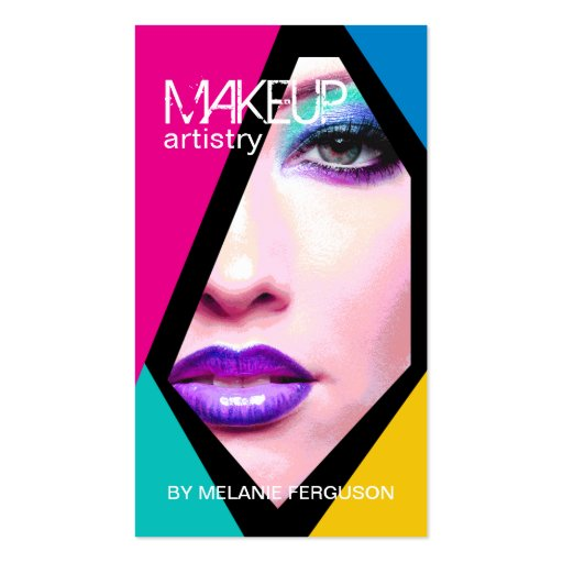 Creative Makeup Artist Gifts - Shirts  Posters  Art   amp  more Gift IdeasUnique Makeup Artist Business Cards