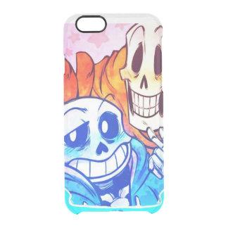 Creative design clear iPhone 6/6S case