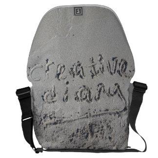 Creative Diary Messenger Laptop Bag Commuter Bag